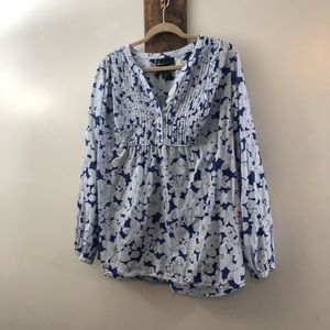Floral blouse by lane Bryant size 22/24